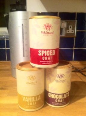 Whittard's chai latte